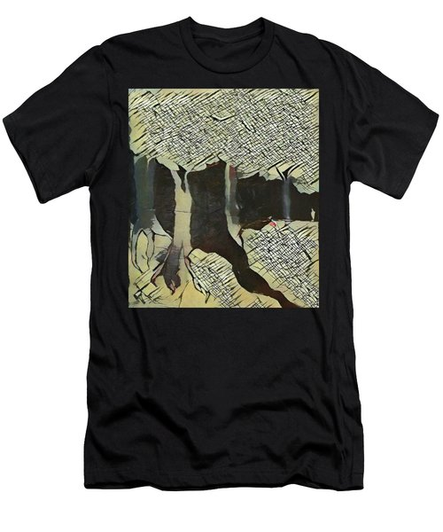 The Woods Are Lovely Men's T-Shirt (Athletic Fit)