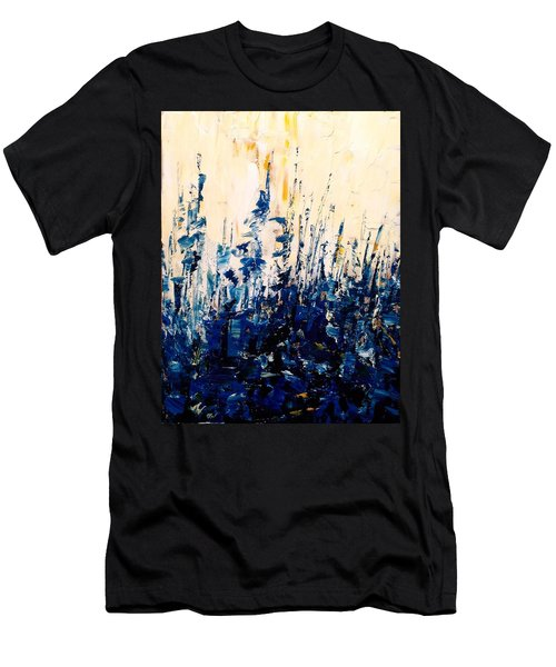 The Woods - Blue No.1 Men's T-Shirt (Athletic Fit)