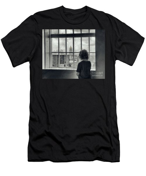 The World Outside My Window Men's T-Shirt (Athletic Fit)