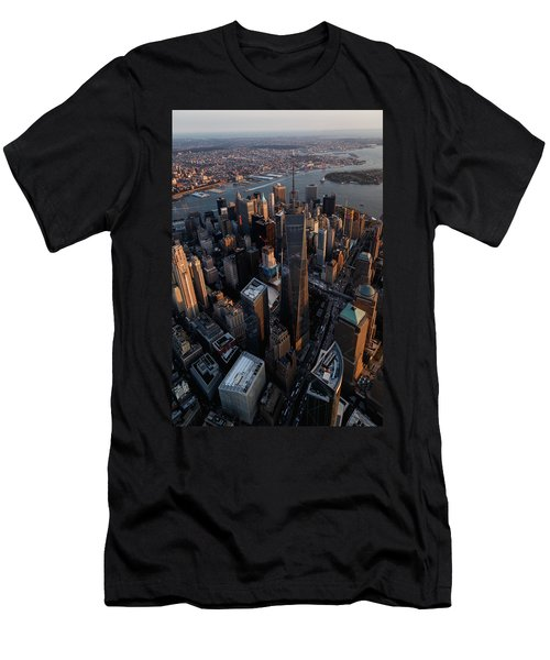 The World Trade  Men's T-Shirt (Athletic Fit)