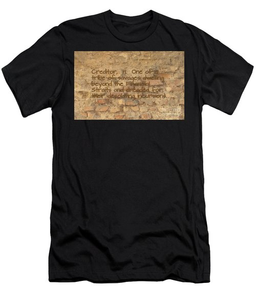 The Writing On The Wall Five Men's T-Shirt (Athletic Fit)