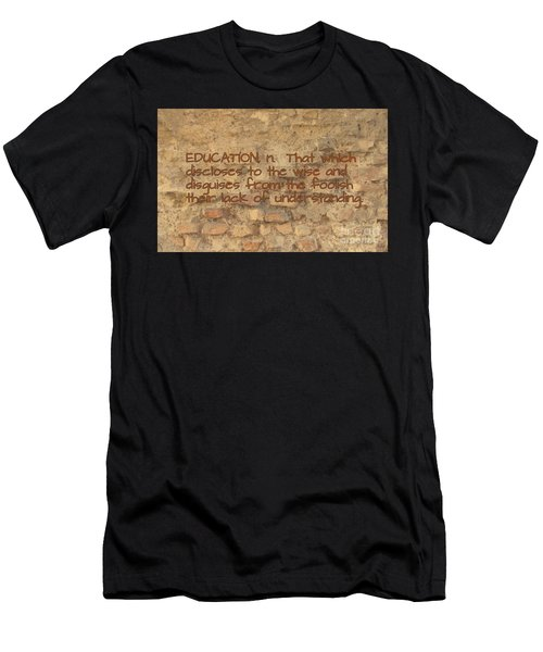 The Writing On The Wall Seven Men's T-Shirt (Athletic Fit)