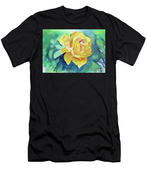 The Yellow Rose Men's T-Shirt (Athletic Fit)