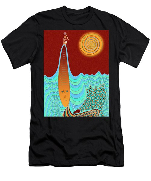 The Young Man And The Sea Men's T-Shirt (Athletic Fit)