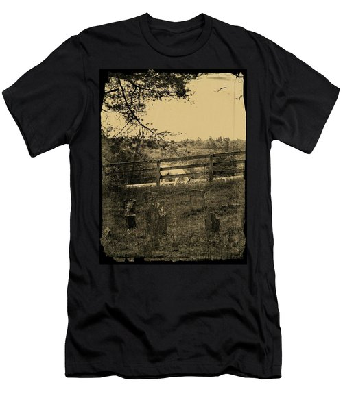 Then And Now Men's T-Shirt (Athletic Fit)