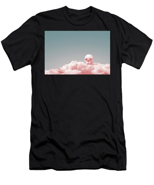 Men's T-Shirt (Athletic Fit) featuring the digital art Then We'll Come Down by Joseph Westrupp