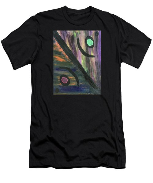 Men's T-Shirt (Athletic Fit) featuring the painting Therapist's Office by Robbie Masso