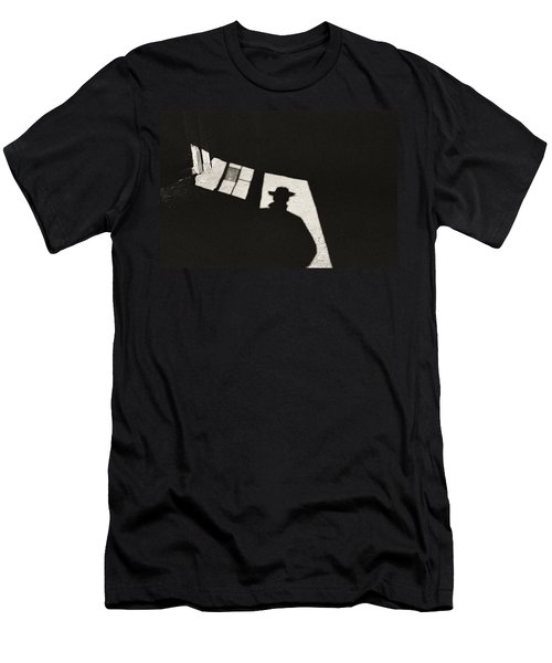 There's A New Sheriff In Town Men's T-Shirt (Athletic Fit)