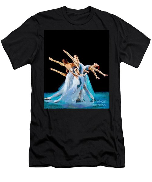 They Danced Men's T-Shirt (Athletic Fit)