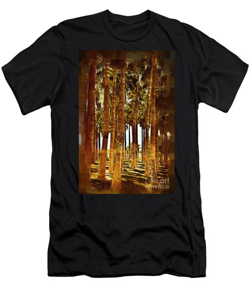 Thick Palm Trees Men's T-Shirt (Athletic Fit)