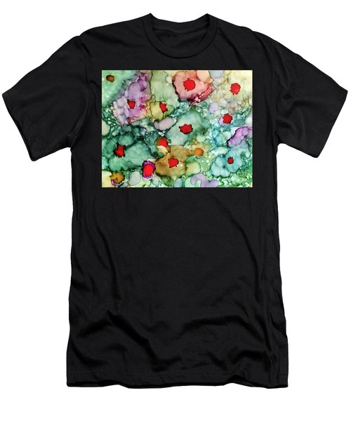 Men's T-Shirt (Athletic Fit) featuring the painting Think Spring by Denise Tomasura