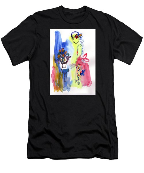 Thinking Of Tonight Men's T-Shirt (Athletic Fit)