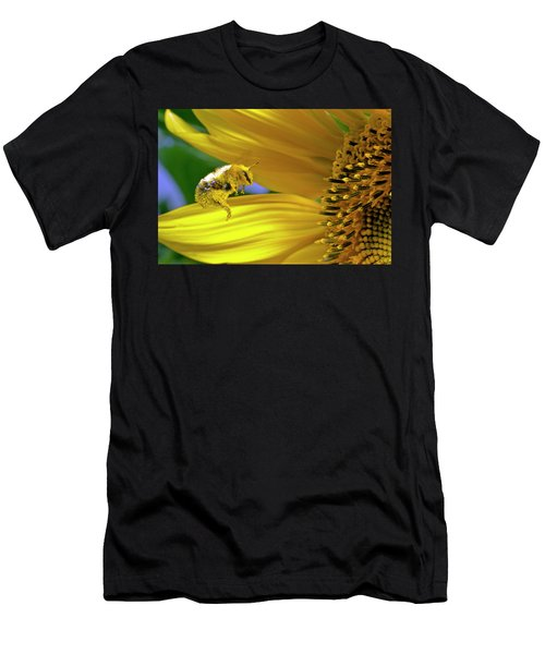 This Bee Needs A Bath Men's T-Shirt (Athletic Fit)