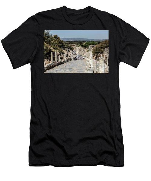 This Is Ephesus Men's T-Shirt (Slim Fit) by Kathy McClure
