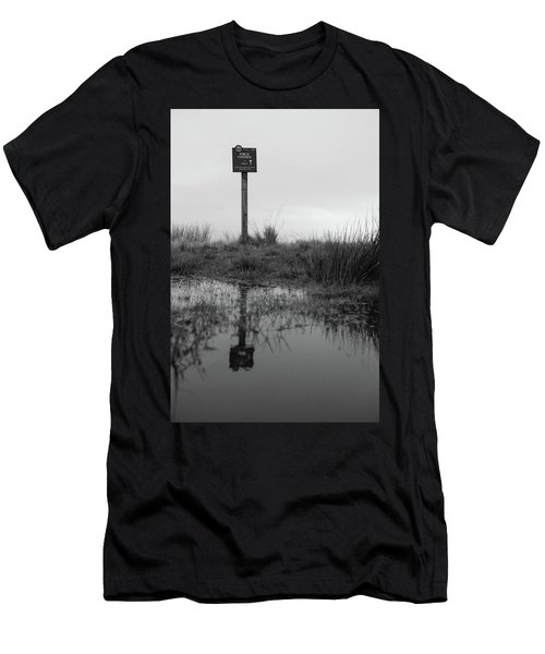 Men's T-Shirt (Athletic Fit) featuring the photograph This Way To Darwen by RKAB Works