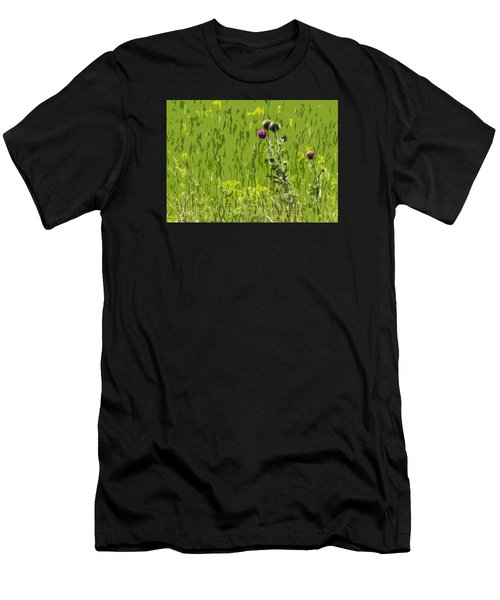 Thistle In Bear Trap Canyon Men's T-Shirt (Athletic Fit)