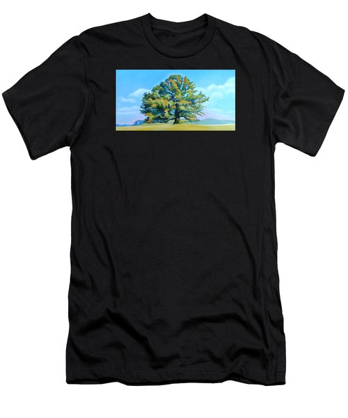 Thomas Jefferson's White Oak Tree On The Way To James Madison's For Afternoon Tea Men's T-Shirt (Athletic Fit)