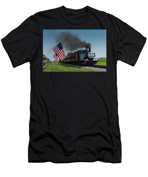 Thomas The Train Men's T-Shirt (Athletic Fit)