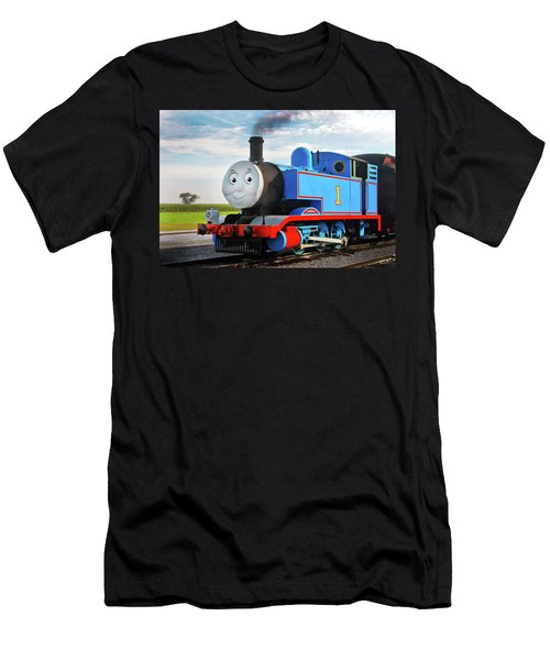 Thomas The Train Men's T-Shirt (Slim Fit) by Paul W Faust -  Impressions of Light