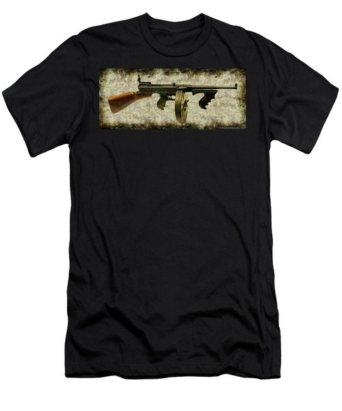 Thompson Submachine Gun 1921 Men's T-Shirt (Athletic Fit)