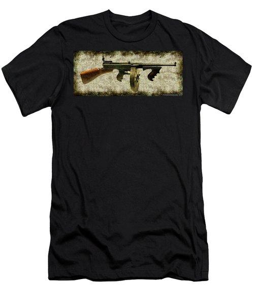 Thompson Submachine Gun 1921 Men's T-Shirt (Athletic Fit)