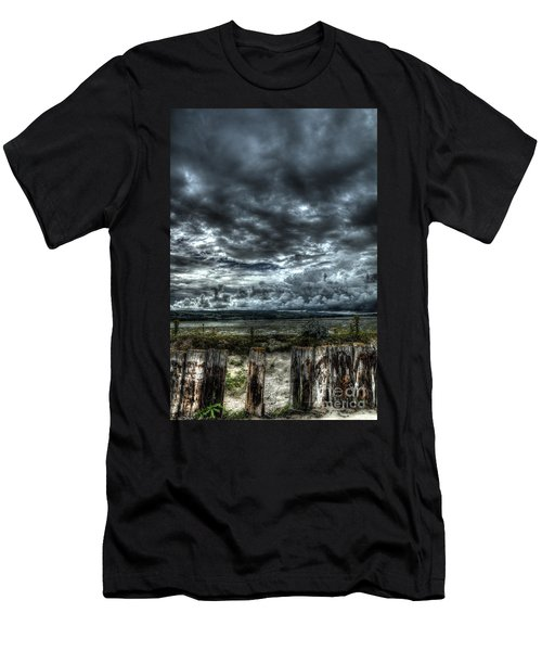 Threatening Sky Men's T-Shirt (Athletic Fit)