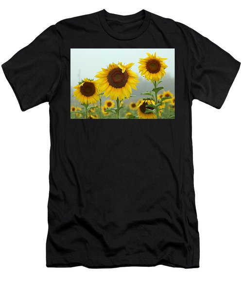 Three Amigos In A Field Men's T-Shirt (Athletic Fit)