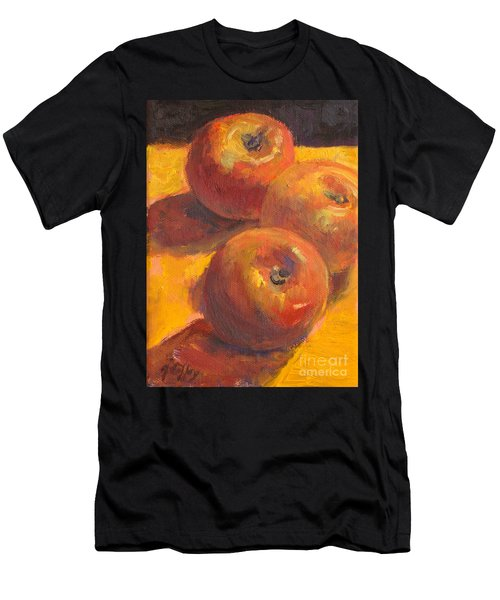 Three Apples Men's T-Shirt (Athletic Fit)