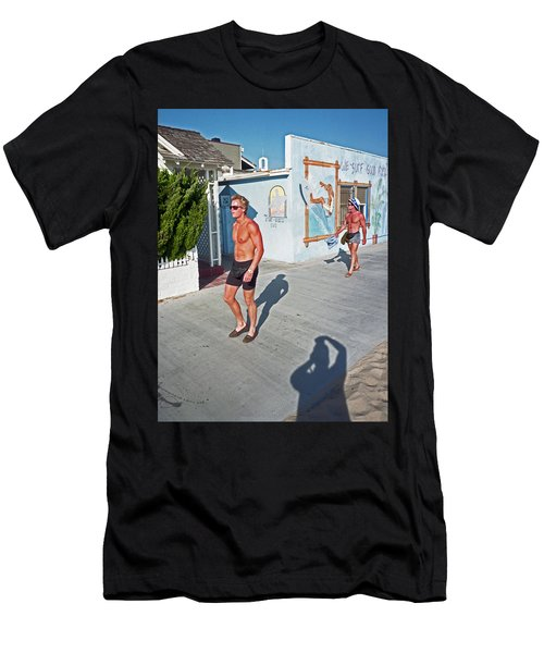Three Beefcakes Men's T-Shirt (Athletic Fit)