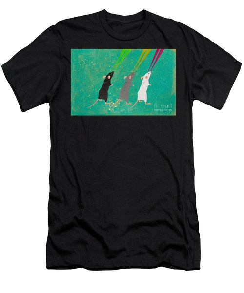Three Blind Mice Men's T-Shirt (Athletic Fit)