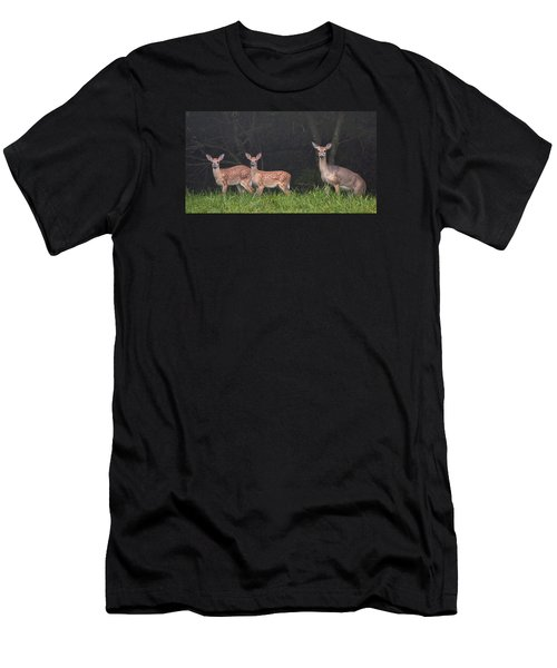 Three Does Men's T-Shirt (Athletic Fit)