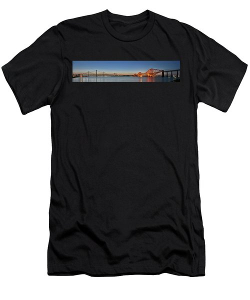 Three Forths At Dusk Men's T-Shirt (Athletic Fit)