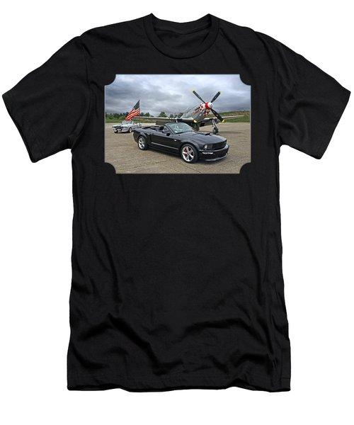 Three Generations Men's T-Shirt (Slim Fit) by Gill Billington