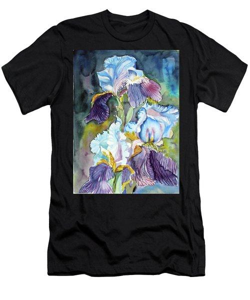 Three Irises Men's T-Shirt (Athletic Fit)
