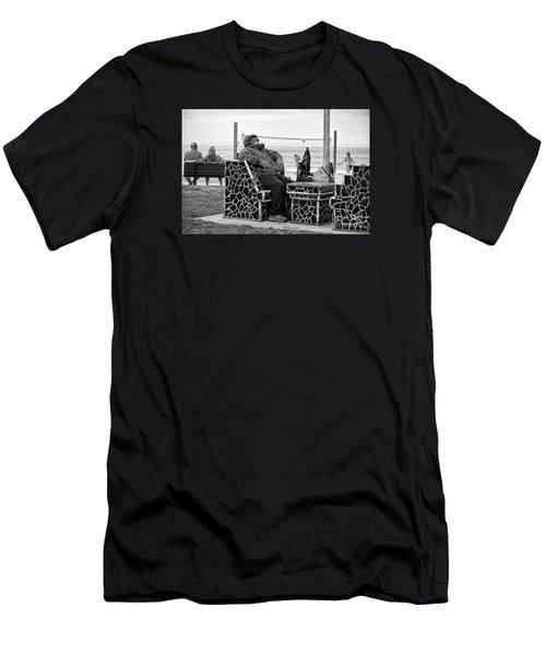 Three Laguna Lifestyles Men's T-Shirt (Athletic Fit)