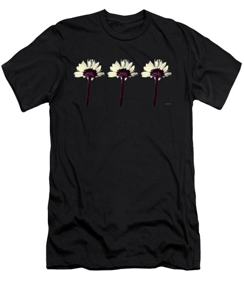 Three Little Daisies Men's T-Shirt (Athletic Fit)