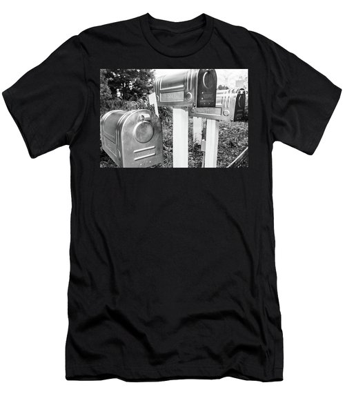 Three Mailboxes Men's T-Shirt (Athletic Fit)