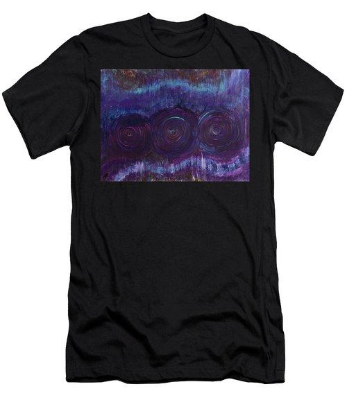 Three Mandalas Men's T-Shirt (Athletic Fit)