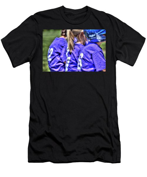Three On The Bench 1621 Men's T-Shirt (Athletic Fit)