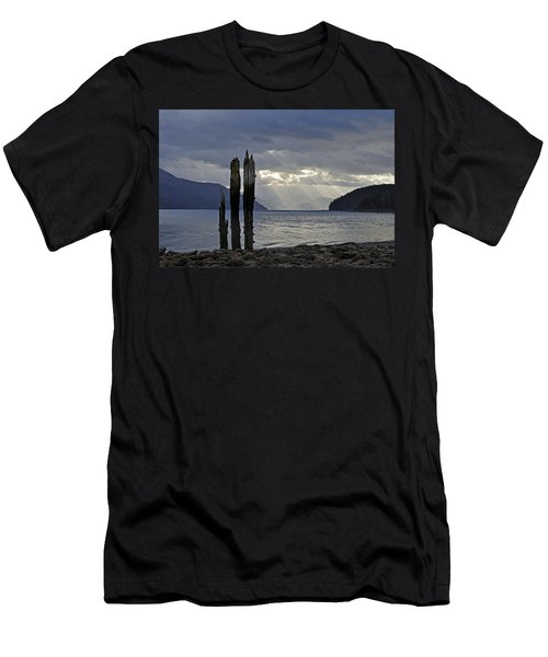 Three Remain Men's T-Shirt (Athletic Fit)