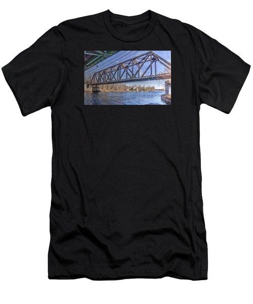 Three Rivers Trestle Men's T-Shirt (Athletic Fit)