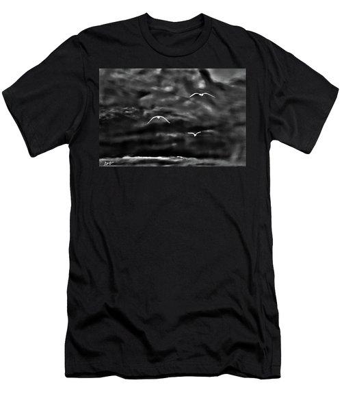 Three Seagulls Men's T-Shirt (Athletic Fit)