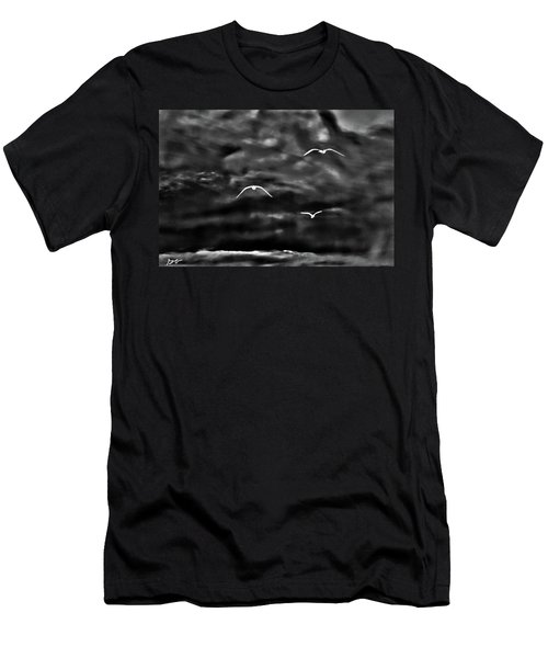 Three Seagulls Men's T-Shirt (Athletic Fit)