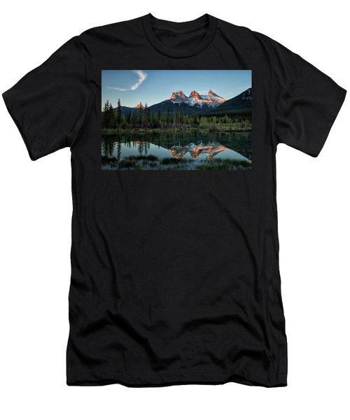Three Sisters Sunrise Men's T-Shirt (Athletic Fit)
