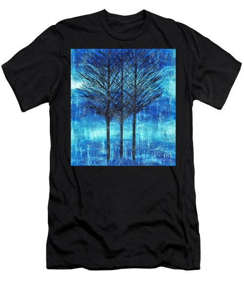 Three Trees  Men's T-Shirt (Athletic Fit)