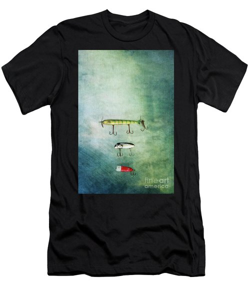Three Vintage Fishing Lures Men's T-Shirt (Athletic Fit)