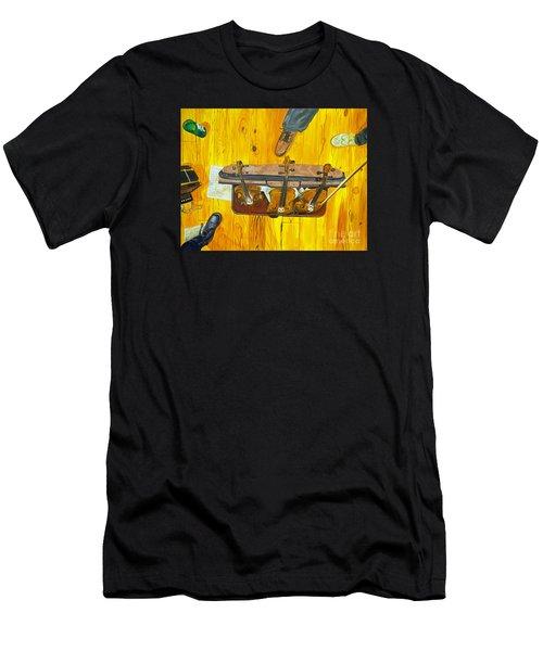 Three Violins Men's T-Shirt (Athletic Fit)