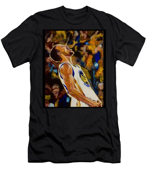 Men's T-Shirt (Athletic Fit) featuring the painting Thrill Of Victory by Joel Tesch