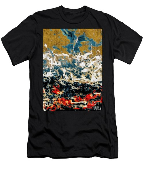 Men's T-Shirt (Slim Fit) featuring the photograph Through The Cracks by William Wyckoff