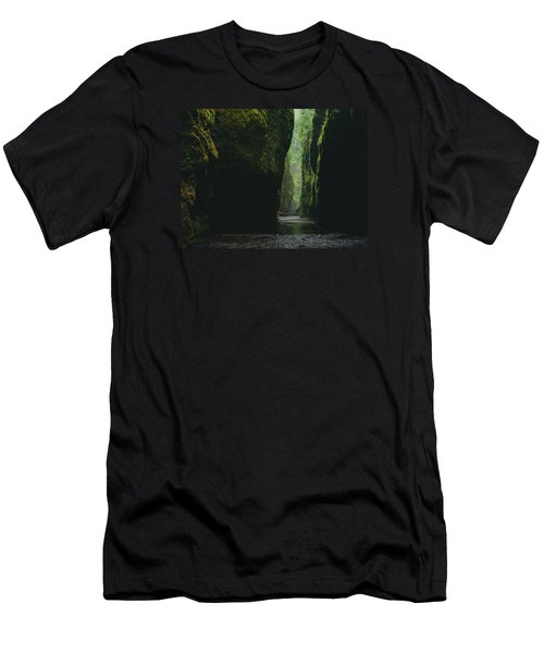 Through The River Men's T-Shirt (Athletic Fit)